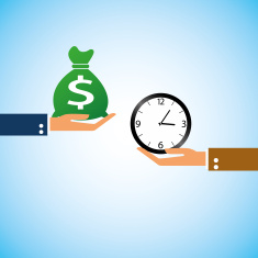 stock-illustration-37344942-hand-bring-money-clock-time